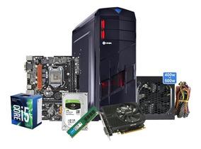 Cpu Pc Gamer A I5 7400 Hd 1tb 8gb Ddr4 Gtx1050ti 4g + Brinde