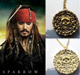 Medallon Collar Piratas Del Caribe