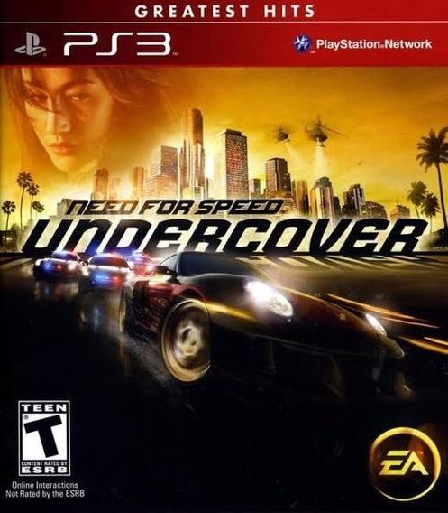 Need For Speed Undercover Original- Ps3 (envio Imediato)