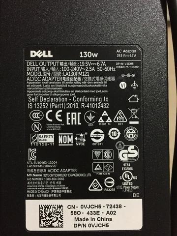 Kit De 4 Fontes De Notebook Dell E Hp
