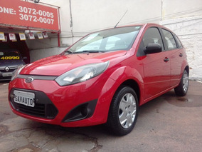 Ford Fiesta 1.0 8v Flex/class Flex 5p 2013 Vermelha