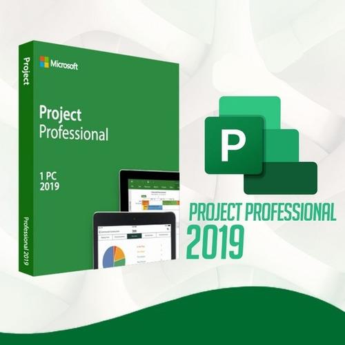 Project 2019 Chave Ativação Professional Pro
