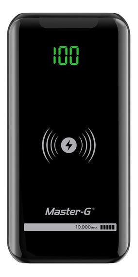Batería Externa Power Bank Master G 10000 Carga Inalámbrica