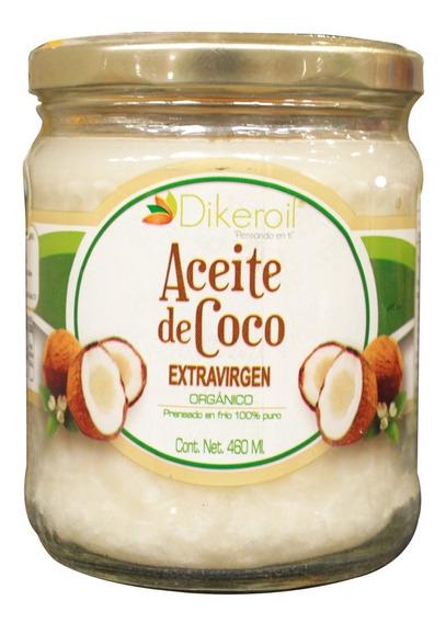 Aceite De Coco Organico Dikeroil 460 Ml