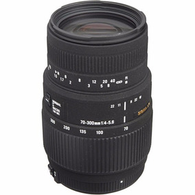 Lente Sigma 70-300mm F/4-5.6 Dg Autofoco Para Nikon