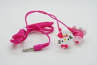 Fone Intra Auricular Hello Kitty Mp3 Smartphone