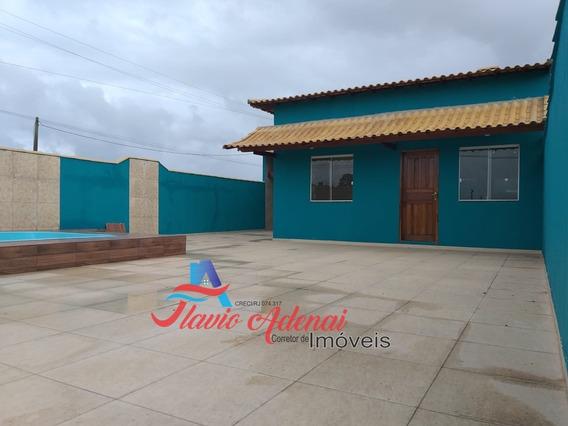 Linda Casa Com Excelente Terreno Em Condomínio, Unamar Cabo Frio - Fac 131 - 34128162