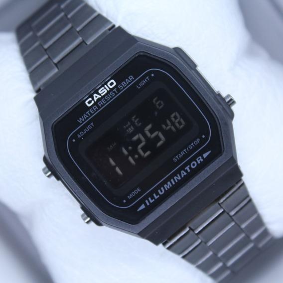 Reloj Casio Negro Mate A168 Retro Vintage