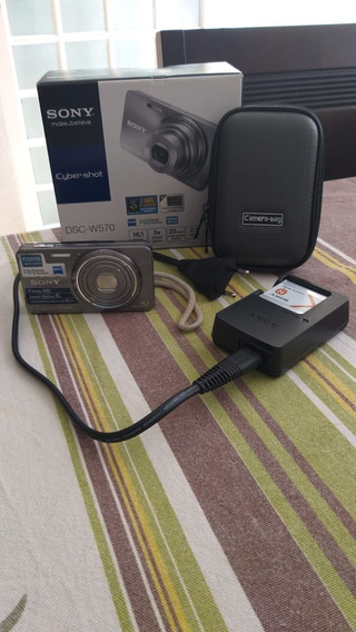 Câmera Digital Sony Dsc W570