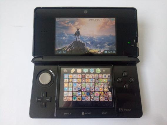 Nintendo 3ds 32gb 300 Jogos