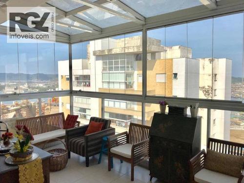 Apartamento À Venda, 111 M² Por R$ 800.000,00 - Ponta Da Praia - Santos/sp - Ap5624