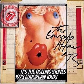 Cd Rolling Stones - The Brussels Affair 73