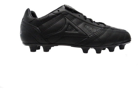 Zapatos Futbol Pirma Tachos Piel Natural Modelo 501