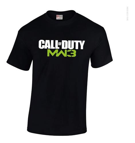 Camisetas Unbranded - Edicion Call Of Duty Videojuego Mw3