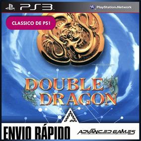 Double Dragon - Clássico De Ps1 - Jogos Ps3 Midia Digital