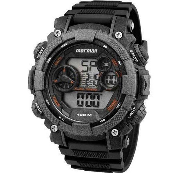 Relógio Mormaii Masculino Mo12579b/8y C/ Garantia E Nf