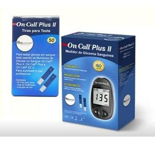 Aparelho De Medir Glicose Diabetes Glicemia On Call Plus Ii
