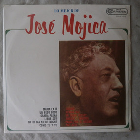 Lp Lo Mejor De José Mojica 1967 Jurame, Disco Vinil Camden