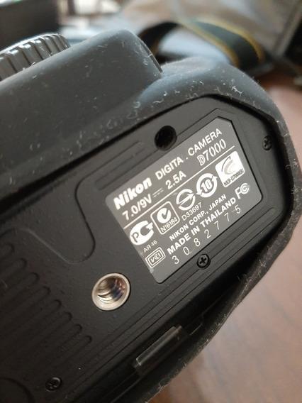 Câmera Digital Nikon D7000 Ótimo Estado Com Acessórios.