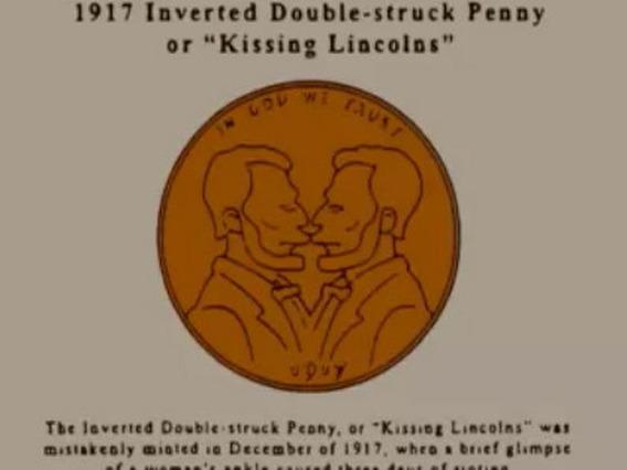 Moneda De Los Lincoln Que Se Besan 1917