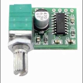 Placa Mini Módulo Amplificador Estéreo 3+3w Rms Com Volume