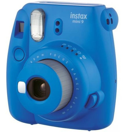 Camera Instax Mini 9 Azul Cobalto