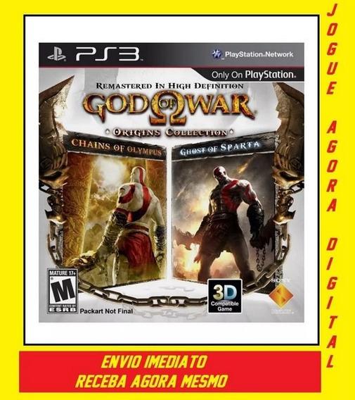 God Of War Origins Collection Ps3 Entrega Email