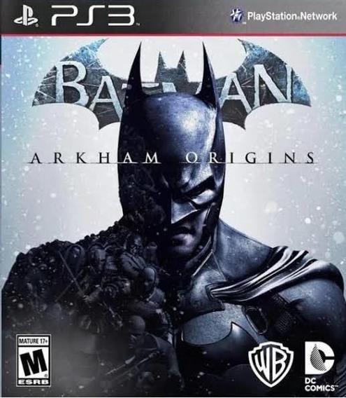 Batman Arkham Originis Ps3 Psn Digital Envio Já