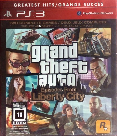 Jogo Gta Grand Theft Auto Episodes From Liberty City Lacrado