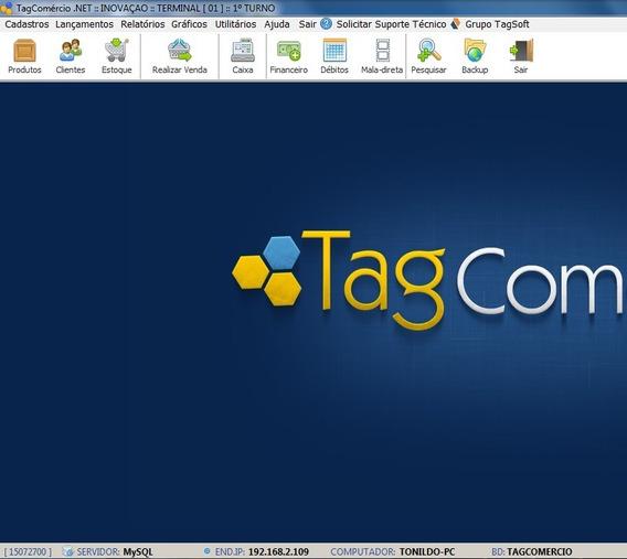 Tagcomercio, Pdv, 99 Pcs Em Rede. (sem Mensalidade)