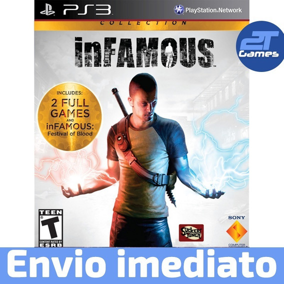 Infamous Collection Ps3 Psn Jogo A Pronta Entrega