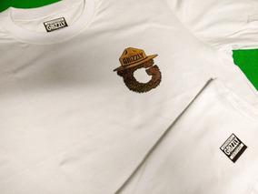 0f47d0a7cf Camiseta Marrom Lisa - Camisetas Masculino Manga Curta no Mercado ...
