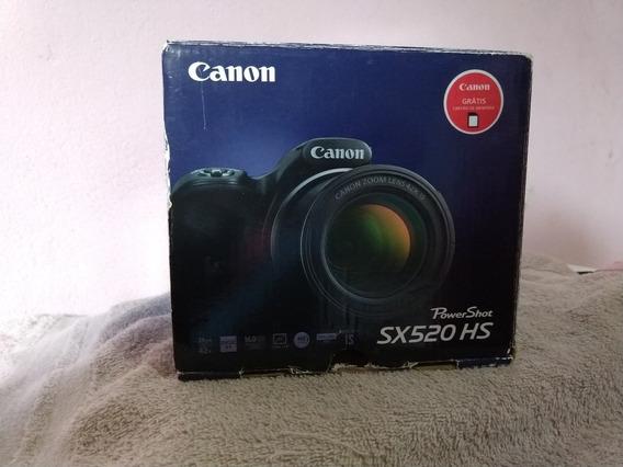 Câmera Canon Sx520 Hs Powershot