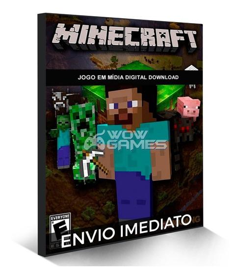 Minecraft - Cartão De Ativação Original Completo Pc Mojang