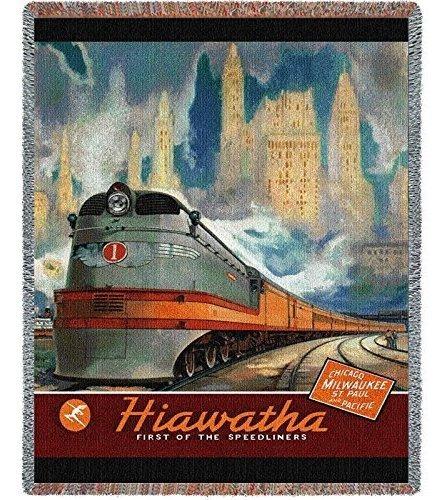 Lanzamiento De Hiawatha  Manta 70 X 54