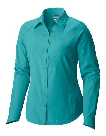 Camisa Colu. D. Silver Ridge L S Oxide Blue