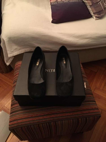 Zapatos Sibyl Vane Gamuza Taco Plateado 38 1 Postura C Nuevo