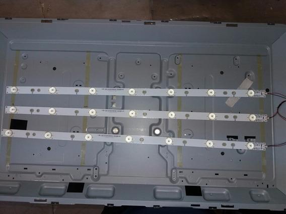Kit 3 Barras De Leds Da Tv Aoc Le32d1352(em Alumínio)