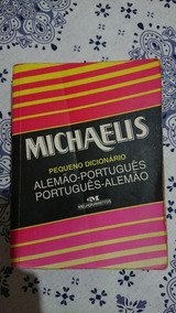 Dicionário Michaelis Alemão/português