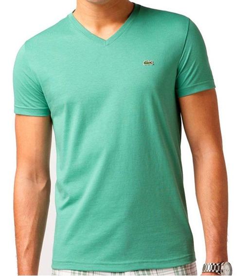 T-shirt Lacoste Masculino Th660421 Original