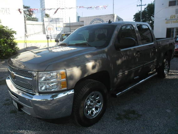 Pick Up Silverado 2500 Lt 2012 Doble Cabina Peweter $239,000