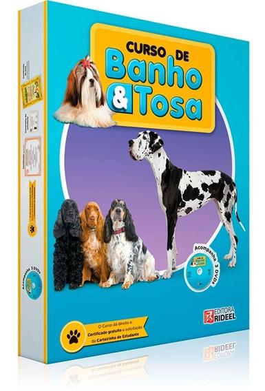 Box Curso De Banho E Tosa Apostila Com 3 Dvds Room