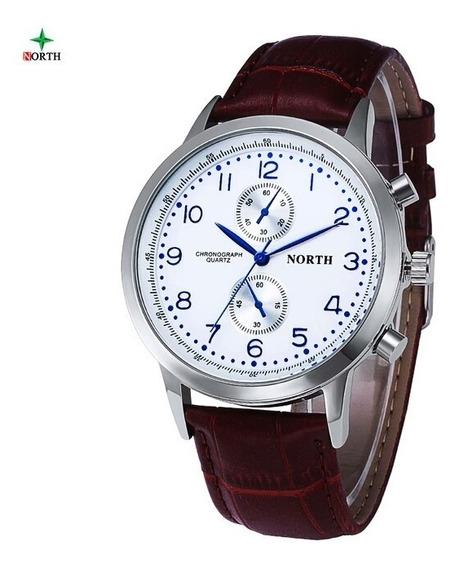 Relógio Masculino Original North Importado A Pronta Entrega