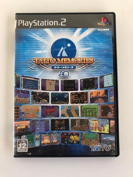 Taito Memories Original Ps2 (playstation 2) Japonês Raridade