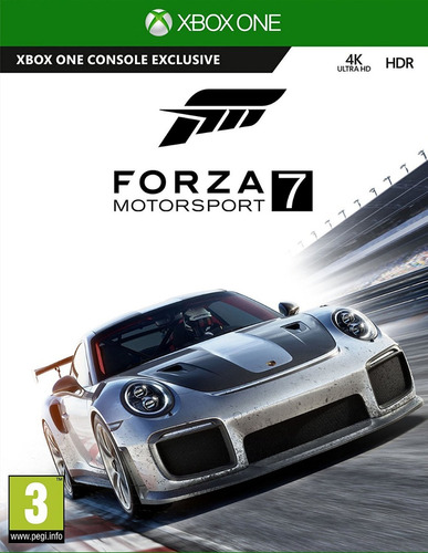 Forza 7 Motosport Xbox One Original Fisico Sellado Blu - Ray