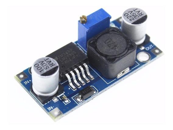 Kit 50 Unidades Regulador Tensão 3a Step-down Lm2596 Arduino