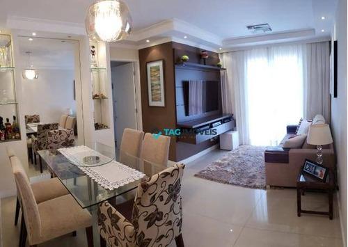 Imagem 1 de 10 de Apartamento Com 2 Dormitórios À Venda, 64 M² Por R$ 400.000 - Swift - Campinas/sp - Ap2266