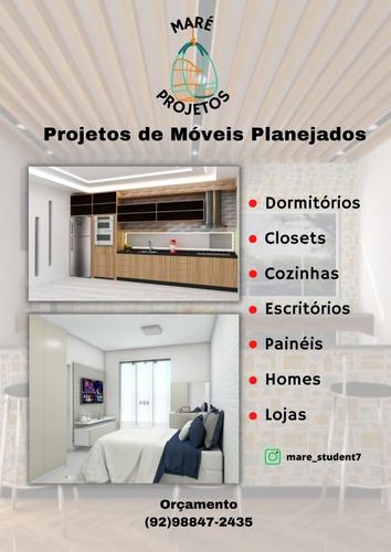 Imagem 1 de 1 de Faço Projetos De Móveis Planejandos