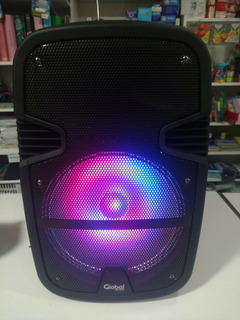 Parlante Con Bluetooth, Luces, Karaoke Con Carro