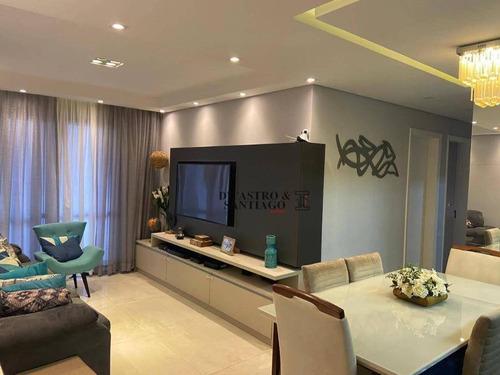 Apartamento Com 3 Dormitórios À Venda, 96 M² Por R$ 764.000,00 - Mooca - São Paulo/sp - Ap0566